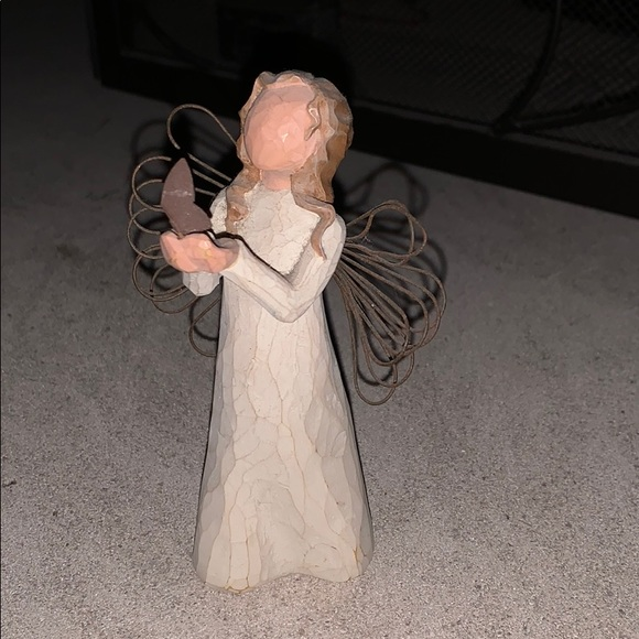 **SOLD**Angel of Freedom Figurine by Willow Tree